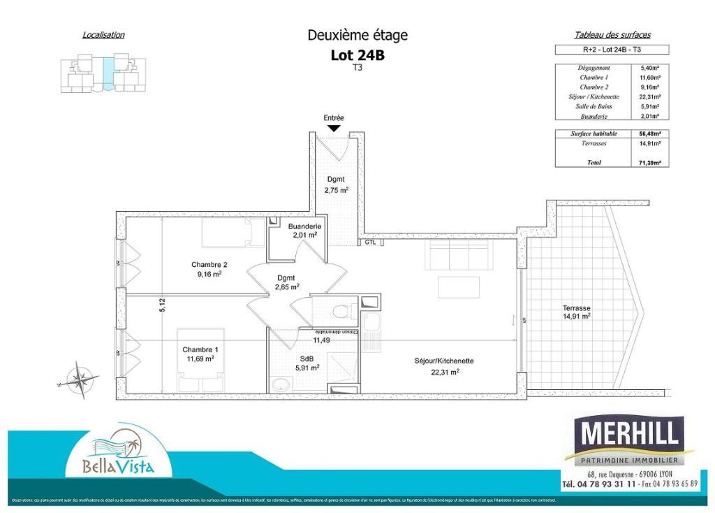 BELLA VISTA - Plan - Lot 24B - Reçu 2014-05-02