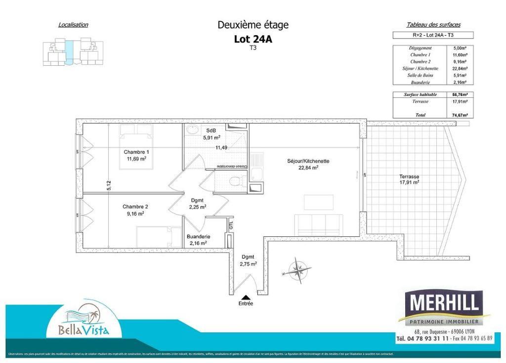 BELLA VISTA - Plan - Lot 24A - Reçu 2014-05-02