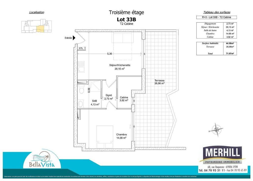 BELLA VISTA - Plan - Lot 33B - Reçu 2014-05-02