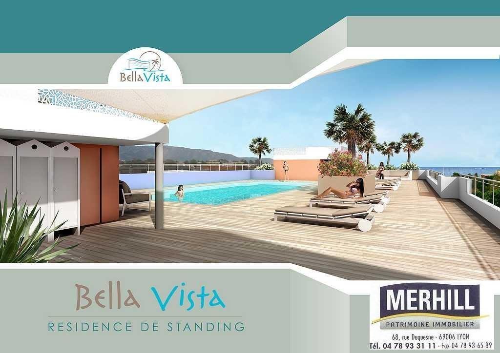 BORMES LES MIMOSAS - Le Bella Vista - Perspective - Recto